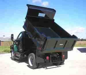 Easterner 10' Steel Dump Body (4-5 Yard)