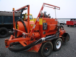 Durapatcher - 125 DJT trailer mounted asphalt patcher