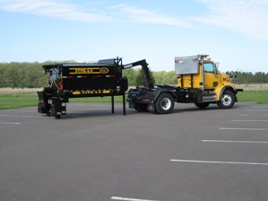 Stepp Asphalt Patching Unit Model:SHPH