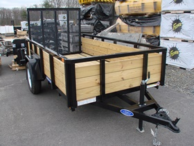 Three Board High Side Trailer