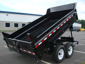 Heavy Duty Low Profile Dump Trailers