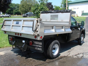 Easterner Stainless Steel Hybrid Dump Body (2-3 Yard)
